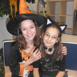 Halloweenparty in der Tagesbetreuung