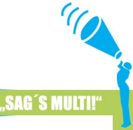 """Redewettbewerb – """"SAG'S MULTI!"""" 2. Runde"""