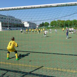 Fußball BRG 16 vs. Liniengasse