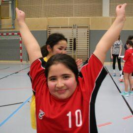 3. Platz Handballturnier Mädchen 1., 2. Klasse
