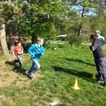 Frisbee werfen