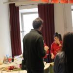 Herr Professor Gotsbacher war auch sehr an unserem Buffet interessiert.