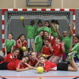 Fotos vom Handball Weihnachtsturnier