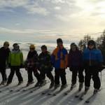 Sonne, Schnee und super Aussicht