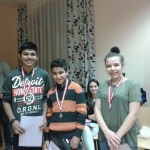 Die Sieger der Gruppe Wymetal