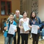 Die Sieger der Gruppe Prohaska