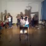 Tanzen im Licht der Scheinwerfer