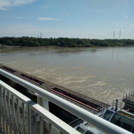 Die 3A im Kraftwerk Freudenau