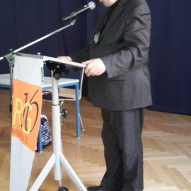 Vortrag des Zeitzeugen Prof. Rudolf Gelbard