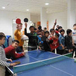 Tischtennisturnier in der Tagesbetreuung
