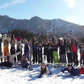 Nordischer Skitag der 1.A