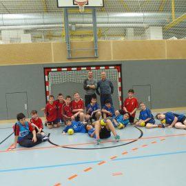 Mini-Handball-Schulcup Knaben