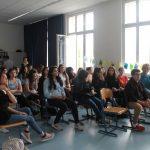 Die aufmerksamen Zuhörer und Zuhörerinnen