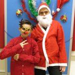 Ein Foto mit dem Weihnachtsmann darf nicht fehlen.
