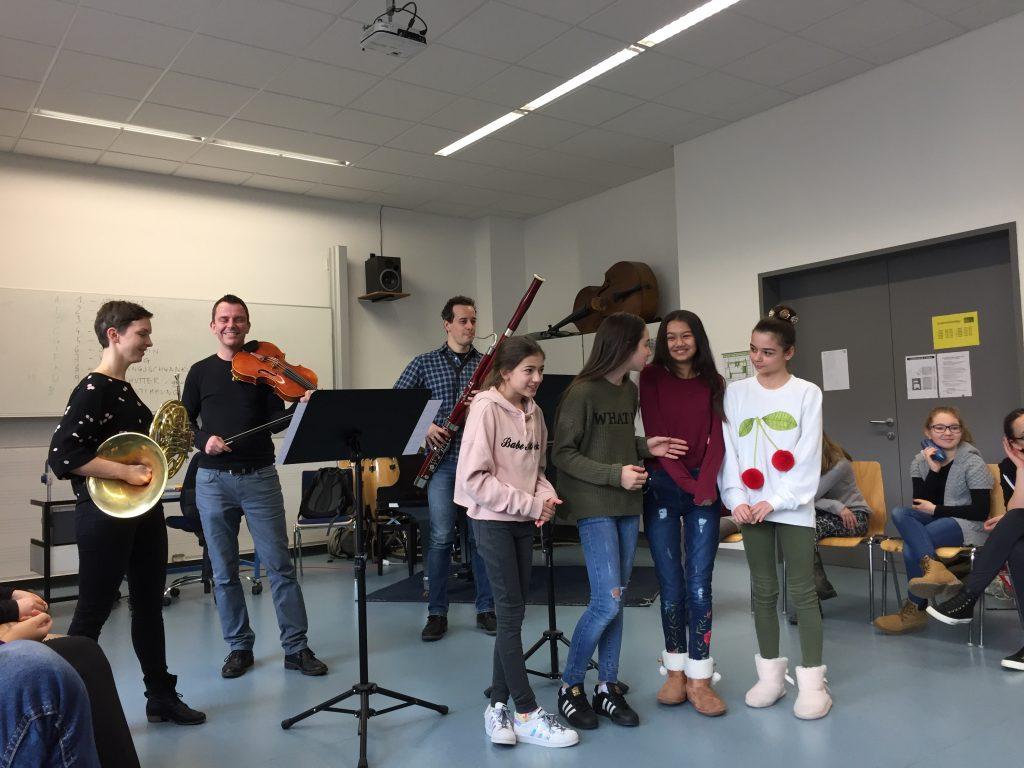 Feuervogel Workshop Aufführung 1