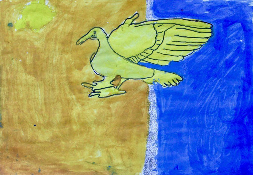 1B - Feuervogel Bild