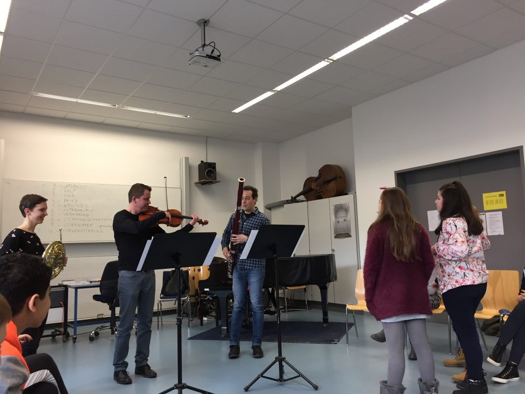 Feuervogel Workshop Aufführung 2