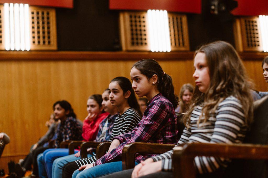 Feuervogel Workshop Konzert - voll konzentriert