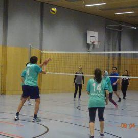 LehrerInnen-SchülerInnen Volleyballmatch 2018/19