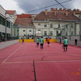 Lehrer-Schüler Fußballmatch 2018