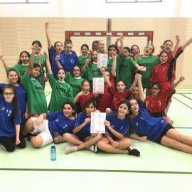 Handball Weihnachtsturniere Mädchen