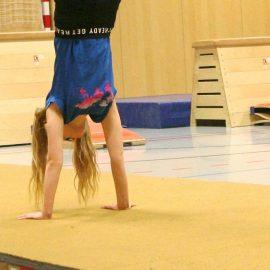 Geräteturnwettkampf 2.Klasse Mädchen