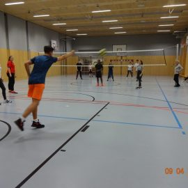 Volleyball-Turnier Oberstufe 2018/19
