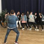 Markus als Choreograph