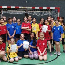 1.Klasse Handballturnier 3.Platz