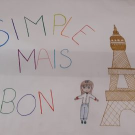 "Bienvenue au restaurant ""Simple mais bon"""