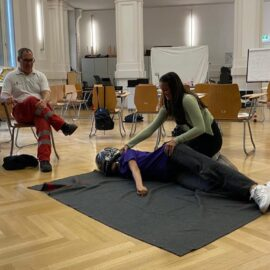 Erste-Hilfe-Kurs der 6.Klassen
